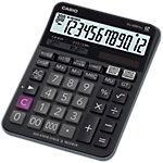 Casio Tischrechner DJ 120D Plus 14,4 x 19,2 x 3,46 cm Schwarz