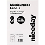 niceday Universal Etiketten 105 x 148 mm 100 Blatt