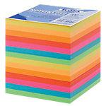 Folia Nachfüllzettel für Zettelboxen Farbig sortiert 9 x 9 cm 90 x 90 x 90 mm 700 Blatt 90 x 90 mm