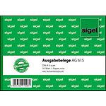 Sigel Ausgabebeleg AG615 DIN A6 quer 50 Blatt