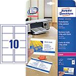 Avery Zweckform Visitenkarten C32016 25 DIN A4 220 g
