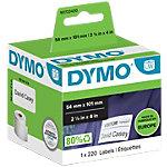 DYMO Adress Etiketten 54 x 101 mm Weiß