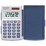 Sharp Taschenrechner EL 243 6,4 x 1,1 cm Weiß