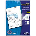 Laserware Bankformulare DIN A4 Verrechnungsscheck 100 Stück