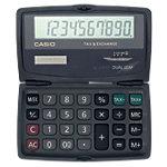 Casio Taschenrechner SL 210TE 12 x 7,3 x 1,3 cm Schwarz
