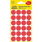 Avery Zweckform Markierungspunkte 3004 Rot Ø 18.0 mm 4 Blatt 96 Stück