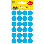 Avery Zweckform Markierungspunkte  Blau Ø 18.0 mm 96 Blatt 96 Stück