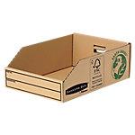 Fellowes Magazijnbakjes 07355EU 100% recycled karton 20 x 28 x 10,2 cm Bruin 50 Stuks