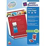 Avery 1298 Laser fotopapier A4 Glanzend 170 g