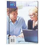 HF2 Showalbum met frontview A4 Zwart 210 x 297 mm 20 Hoezen