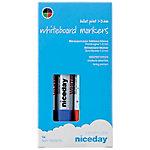niceday Whiteboardmarker Ronde punt 1  3 mm Kleurenassortiment 4 Stuks