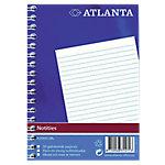 Atlanta Notitieboekje Spiraal Gelinieerd A6   70 g