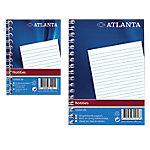 Atlanta Notitieboekje Spiraal Gelinieerd A7   70 g