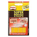 Pattex supermontage strips verwijderbaar Verwijderbare supermontagestrips Geel 20 x 40 mm 10 Stuks
