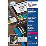 Avery Visitekaartjes Extra glad 270 g