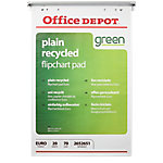 Office Depot Gerecyclede Flipoverblokken Blanco 70 g