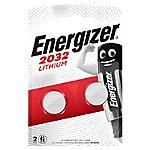 Energizer Batterijen Lithium CR2032 Pak 2