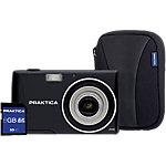 Praktica Digitale camera Z250 BK 8GBCASE 20 Megapixel Zwart