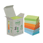 Post it 6531GB Recycled notes Kleurenassortiment 38 x 51 mm 38 x 51 mm 80 g