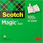 Scotch Magic™ tape 810 Tape Mat, transparant 19 mm x 10 m