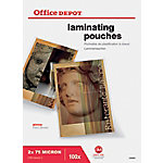 Office Depot Lamineerhoezen A4 Transparant 2 x 75 (150) µm