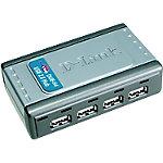 D Link USB hub DUB H4 Grijs
