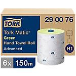 Tork Handdoekrollen Matic Advanced   Groen 6 Rollen
