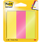 Post it 671 3 Index Kleurenassortiment neon 25 x 76 mm 25 x 76,0 mm 70 g