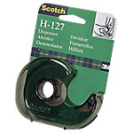 Scotch H127 Plakband dispenser Transparant bruin 19 mm x 33 m