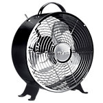 Tristar Bureau ventilator Retro Zwart 320 x 150 x 370 mm