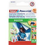 tesa Poster Powerstrips Wit 40 mm 20 Strips
