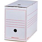 Office Depot Archiefdoos Wit 100% gerecycleerd karton 24,5 x 16,7 x 33,5 cm 12 Stuks