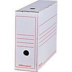 Office Depot Archiefdoos Wit 100% gerecycleerd karton 24,5 x 10 x 33,5 cm 12 Stuks