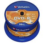 Verbatim DVD R 43548 4.7 GB 120 min. 50 Stuks