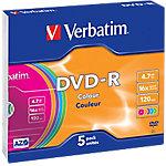 Verbatim DVD R 4.7 GB 5 Stuks