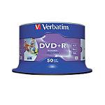 Verbatim DVD+R 43651 4.7 GB 120 min. 50 Stuks