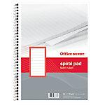 Office Depot Spiraalblok Gelinieerd 4 gaats A4 21 x 29,7 cm 70 g