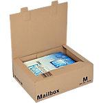 Office Depot Verzenddozen Mail Box Medium Bruin 253 x 330 x 110 mm