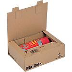 Office Depot Verzenddozen Mail Box Small Bruin 190 x 259 x 85 mm