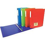 Exacompta Ringband Forever A4 Blauw, oranje, rood, turkoois, groen Recycled polypropyleen 2  rings 20 mm 20 Stuks