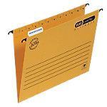ELBA Hangmappen Verticflex® A4 Geel Zuurvrij (ISO9706) karton Verticaal   25 Stuks