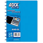 ADOC Showalbum Colorline A4 Blauw 247 x 310 mm 40 Hoezen