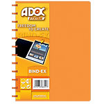 ADOC Showalbum Colorline A4 Oranje 247 x 310 mm 40 Hoezen