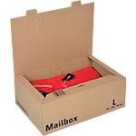 Office Depot Verzenddozen Mail Box Bruin 264 x 400 x 144 mm 5 Stuks
