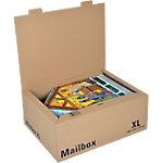 Office Depot Verzenddozen XL Mail Box Bruin 335 x 460 x 184 mm 5 Stuks