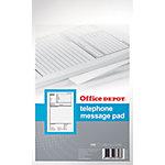 Office Depot Telefoonnotitieblok enkelvoud Ja A5 14,8 x 21 cm 70 g