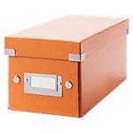 Leitz Archiefdozen Click & store Oranje Karton, pp folie 14,3 x 35,2 x 13,6 cm