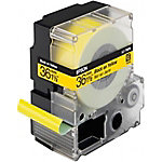 Epson Labeltape LC 7YBP9 36 mm x 9 m Zwart op geel