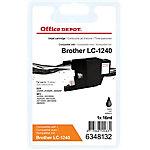 Office Depot Compatible Brother LC1240BK Inktcartridge Zwart