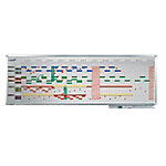 Legamaster Jaar planner Professional  Wit 150 x 50 cm